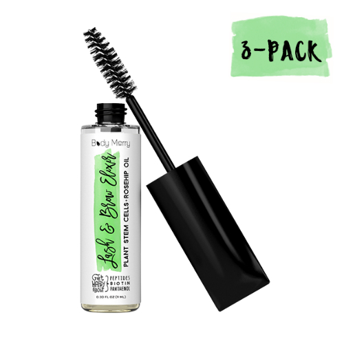 Body Merry Lash and Brow Elixir (3-Pack) Lash and Brow Elixir