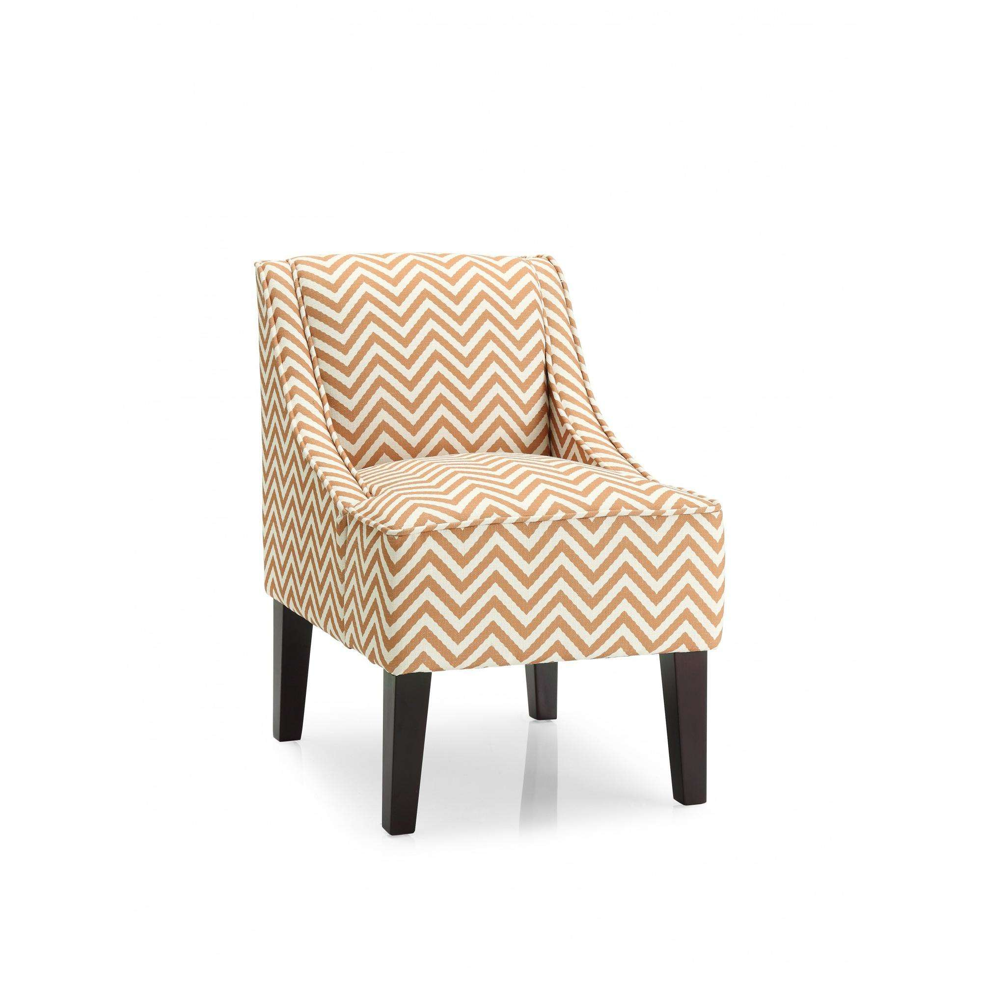 DHI Phoenix Ziggi Upholstered Accent Chair, Multiple Colors