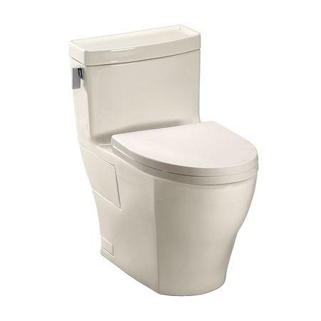 Toto Legato MS624214CEFG Elongated 1 Piece Toilet