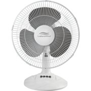 "Lakewood, LAKLDF1210BWM, 12"" Oscillating Table Fan, 1 Each"