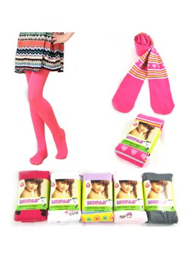d58e5c63485 Product Image 3 Pair Tights Pantyhose Toddler Girls 4-6 Medium Hosiery  Opaque Stocking Ballet