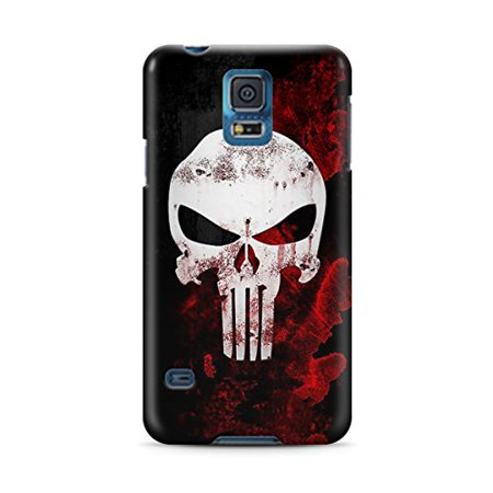 Ganma Punisher Deadpool Logo Case For Samsung Galaxy S5 Hard Case (Punisher Cover)