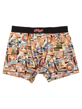 e9f7653d6 Product Image Men s Vintage Cereal Box All Over Print Poly Boxer Brief
