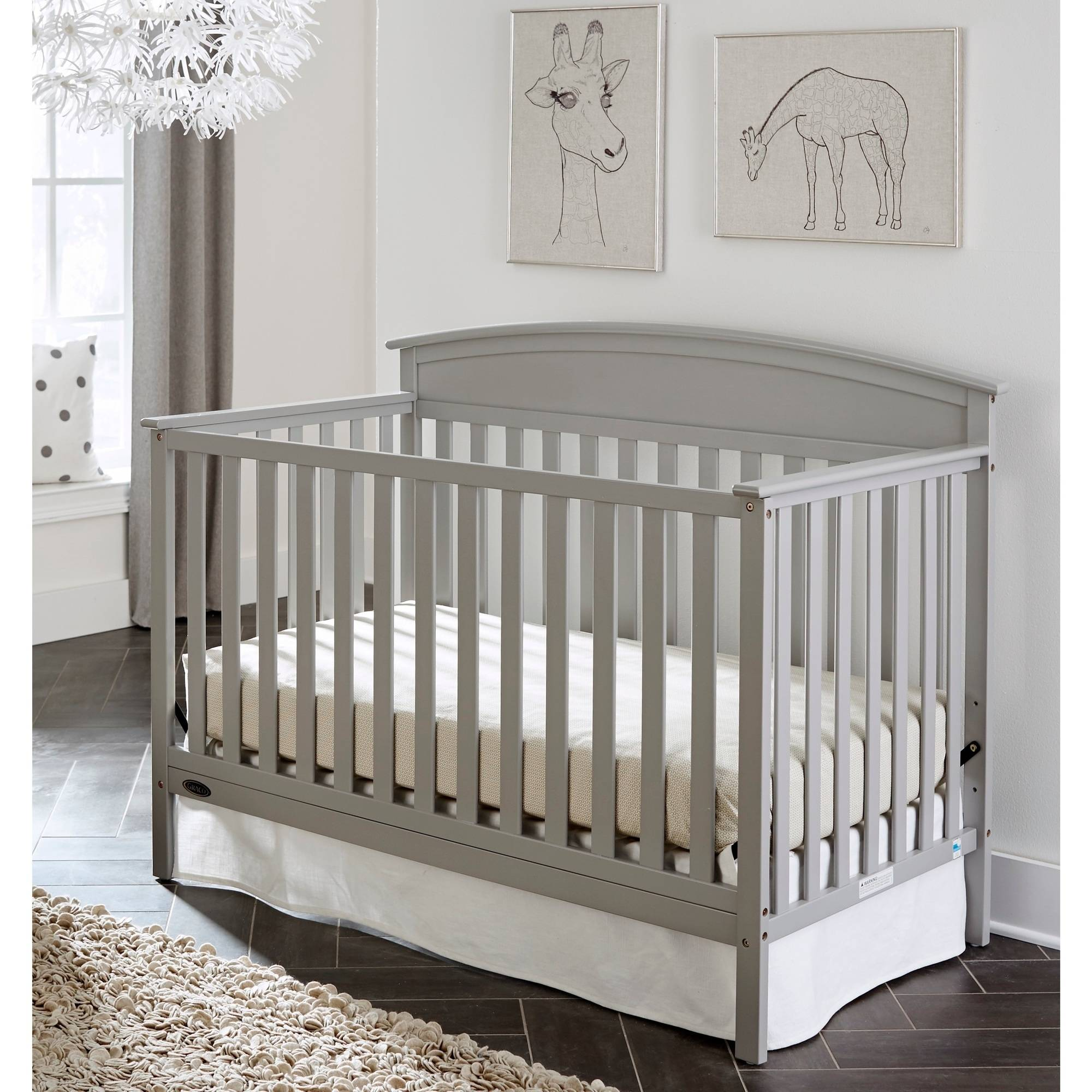 Graco Benton 5-in-1 Convertible Fixed-Side Crib, Choose Your Finish