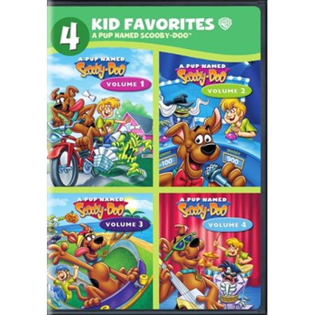 4 KID FAVORITES-A PUP NAMED SCOOBY-DOO (DVD/4PK/M-LOCK) (DVD)](Pooh Adventures Of Scooby Doo Halloween)