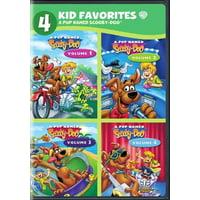 4 KID FAVORITES-A PUP NAMED SCOOBY-DOO (DVD/4PK/M-LOCK) (DVD)
