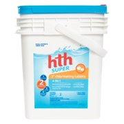 """HTH 42014 3"""" Super Chlorinating Tablets, 35 lb."""