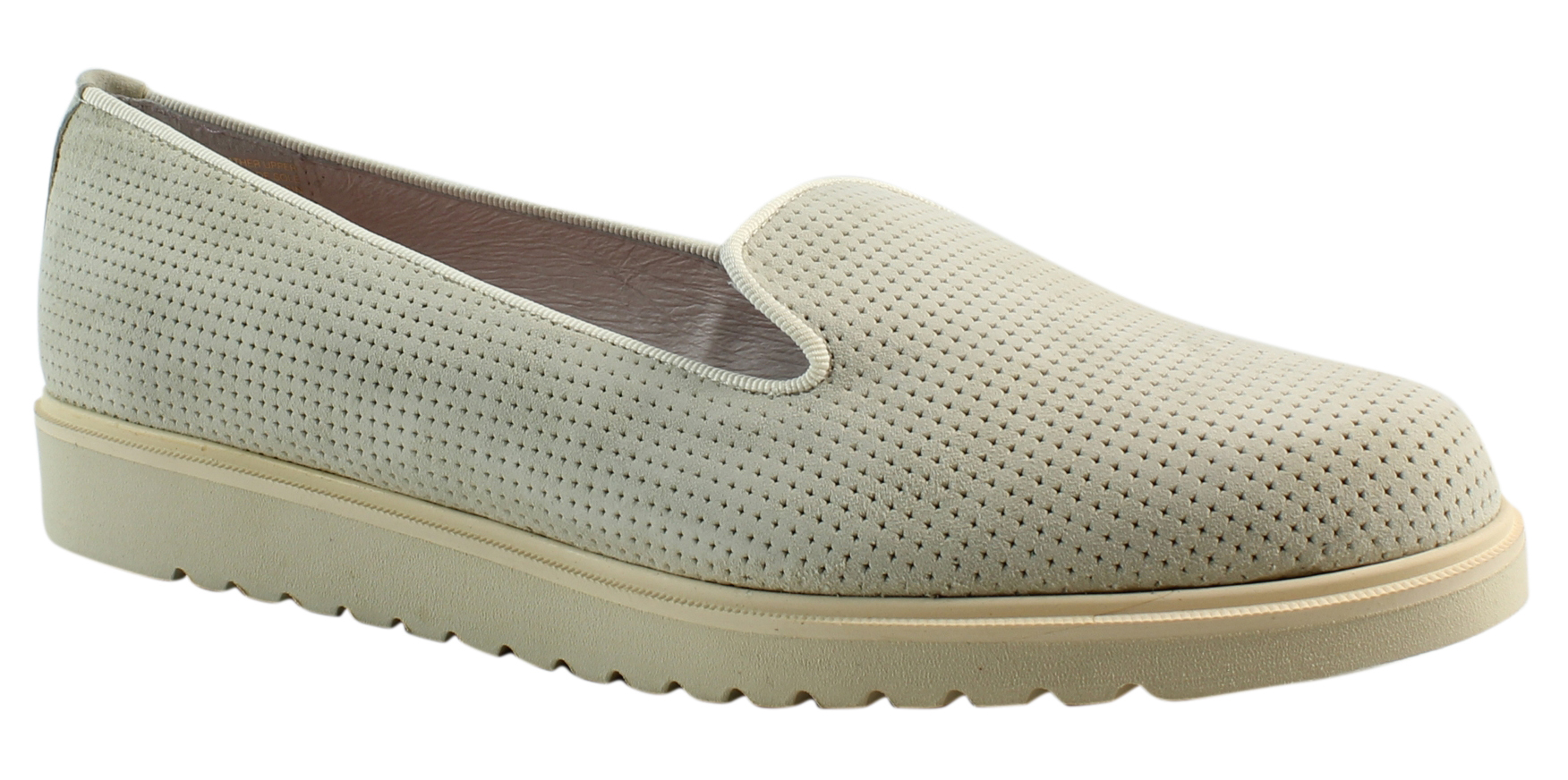 New Patricia Green Womens 83047 Bone Loafers Size 11