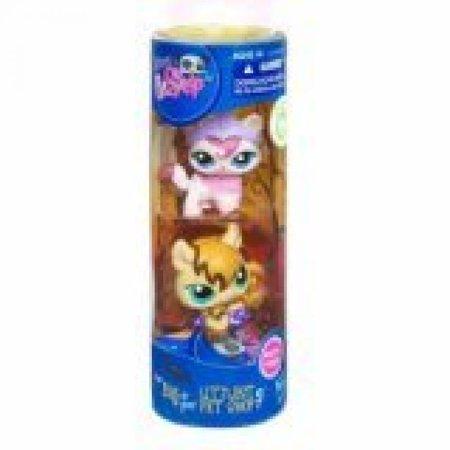 Littlest Pet Shop Halloween Spooky Tube 2Pack Pink Cat Bat