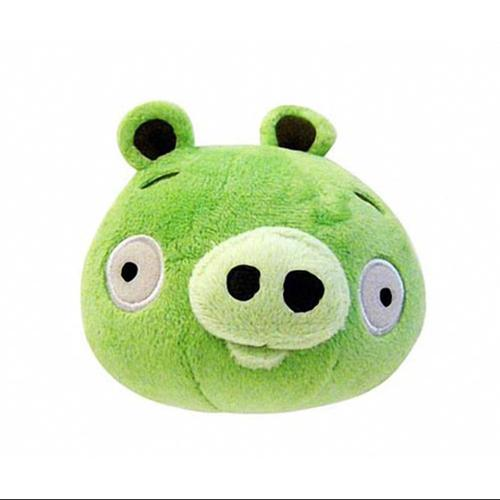 """Angry Birds 16"""" Deluxe Plush Green Pig"""
