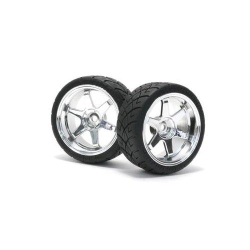 White Team Associated 89152 RC8 Wheels