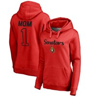 Ottawa Senators Fanatics Branded Women's Plus Sizes Number One Mom Pullover Hoodie - Red