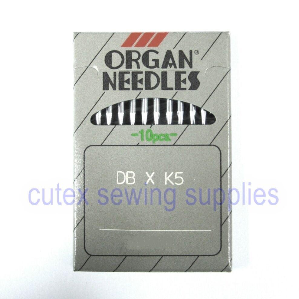metric 75 Size 11 DB-K5 Round Shank Commercial Embroidery Machine Needles 100 ORGAN DBXK5