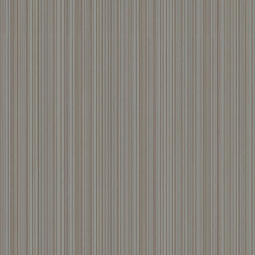 York Wallcoverings Texture Portfolio Stria 33' x 21'' Stripes Flocked Wallpaper