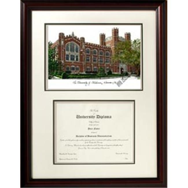 Campus Images OK998V 18'' x 24'' University of Oklahoma Scholar Frame