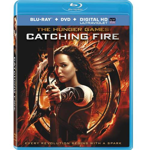 The Hunger Games: Catching Fire (Blu-ray + DVD + Digital HD) (With INSTAWATCH) (Widescreen)
