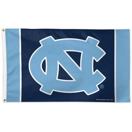 Ncaa Door Flag - University of North Carolina Tar Heels Deluxe Grommet Flag NCAA Licensed 3' x 5'