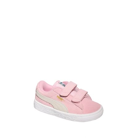 official photos 4bfd1 03c2a puma toddler's suede classic 2 straps sneaker - pink lady