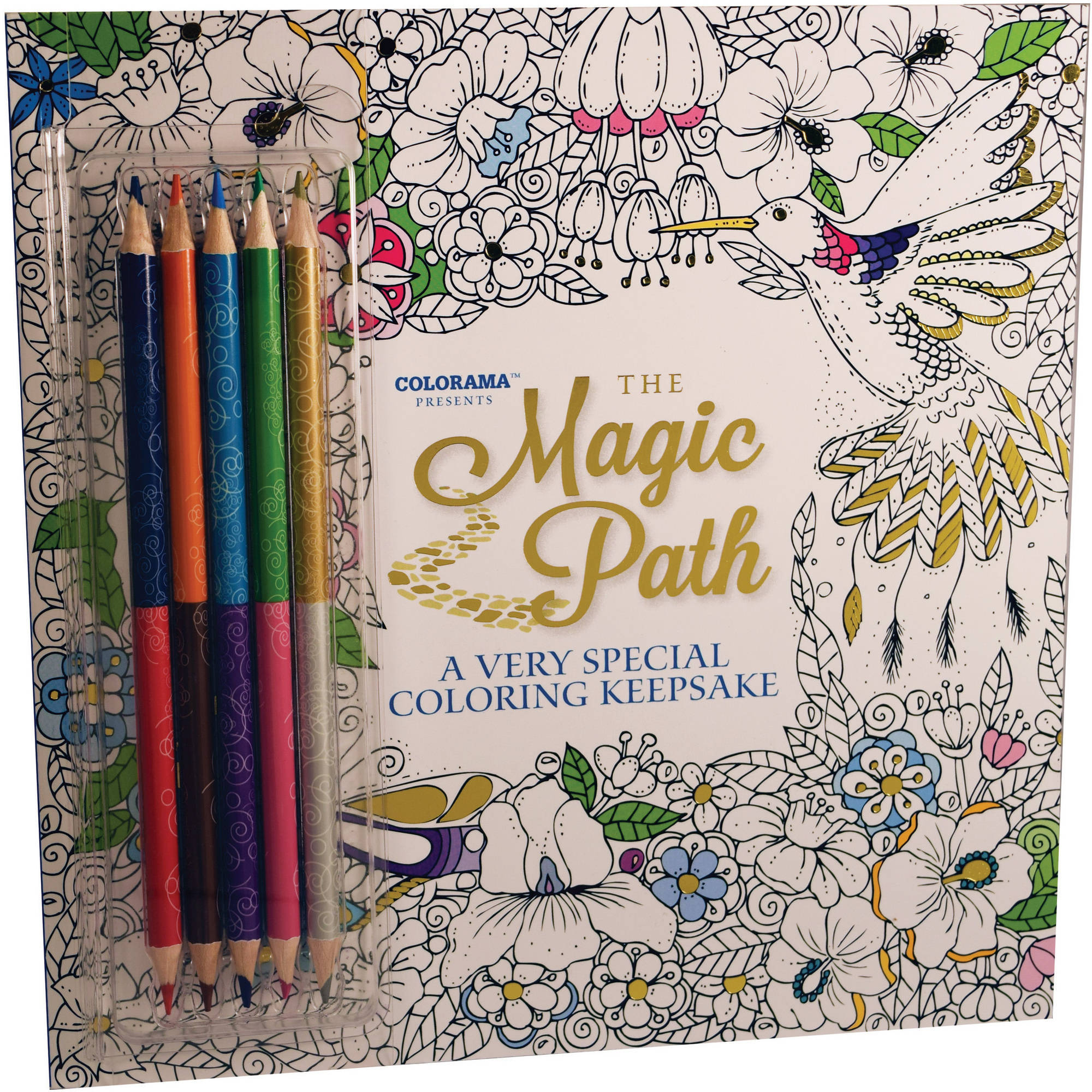 Magic Path Coloring Book!