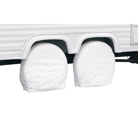 Classic Accessories Rv Wheel Covers 2 Pack White 26 75