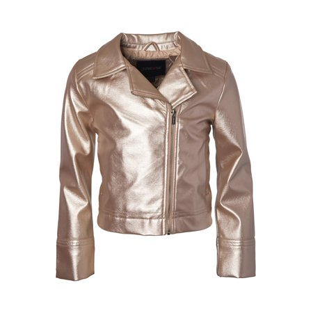 Limited Too Toddler Girl Faux Leather Moto Jacket (Leather Jacket Girls 14)