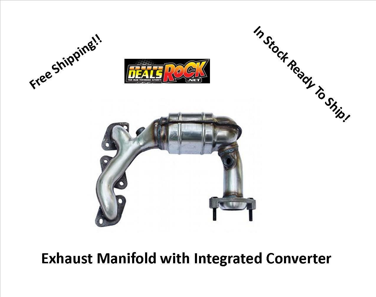 Exhaust Manifold with Integrated Catalytic Converter-GAS Natural Cateran FI