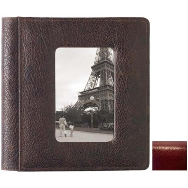 Raika RM 168 RED 4in. x 6in. Frame Front Album Foldou - Red