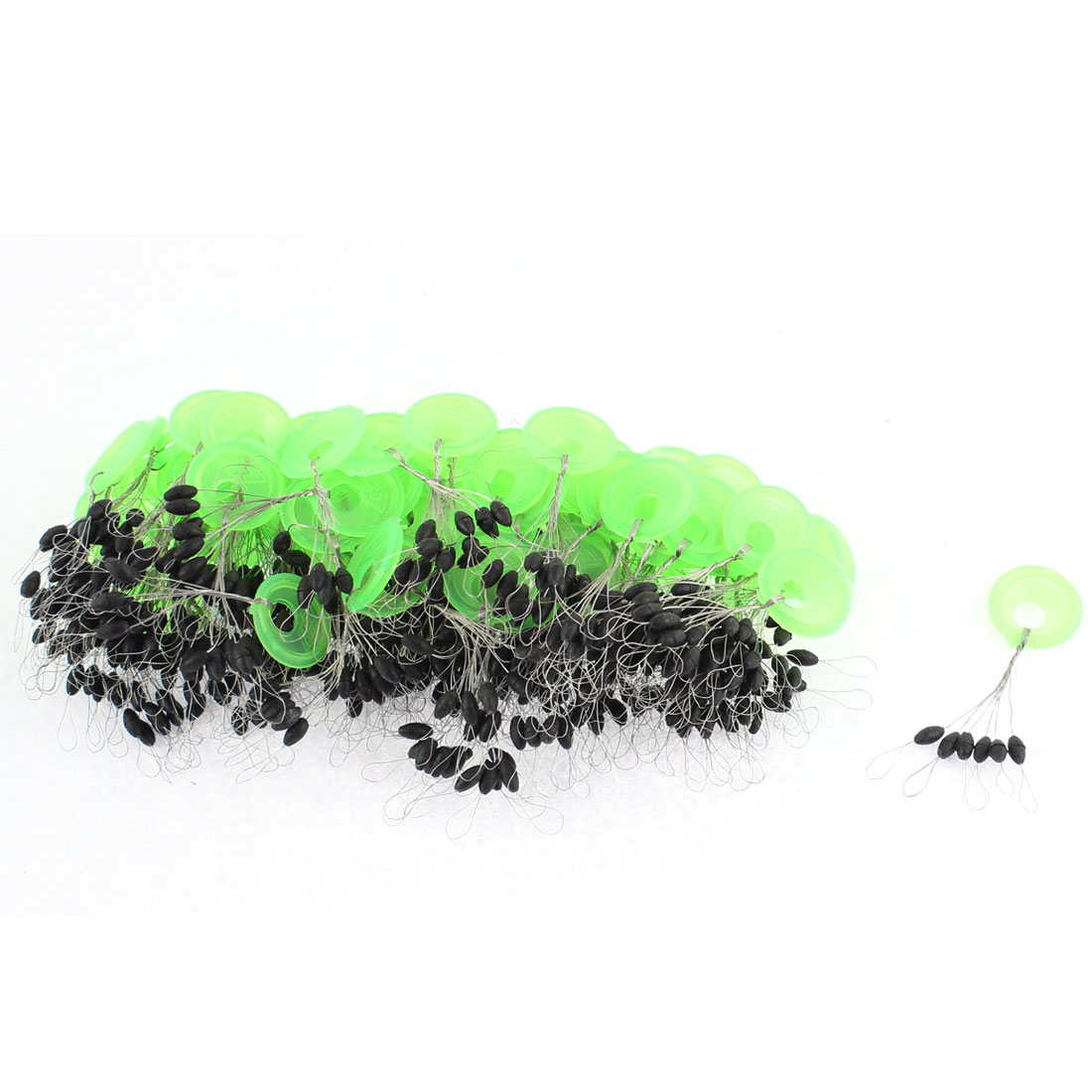 Unique Bargains 6 in 1 Design Round Fishing Floaters Bobbers 5mm Long 50 Pcs by Unique-Bargains
