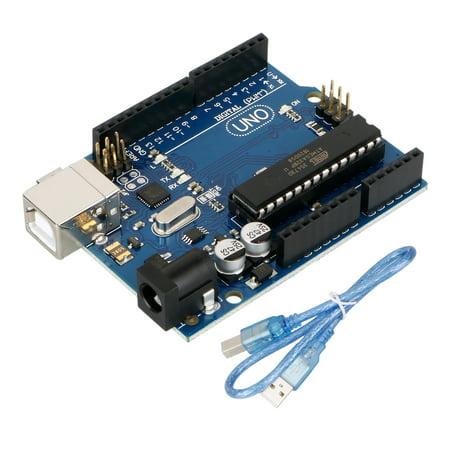 Development Board for ARDUINO UNO R3 ATmega328P ATmega16U2 with USB -