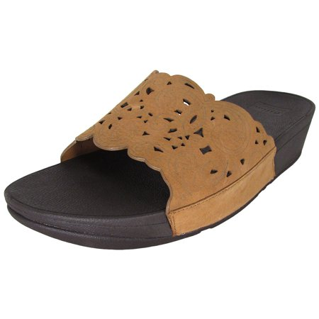 b0efb2fe83d4d FitFlop Womens Flora Slide Slip On Sandal Shoes