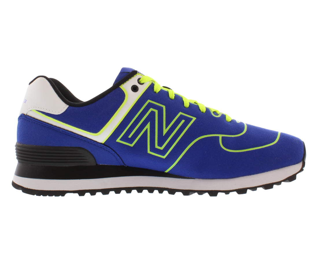 New Balance 574 Neon Medium Women's Shoes  Size 5.5