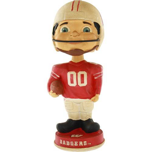 Wisconsin Badgers Vintage Retro Bobble