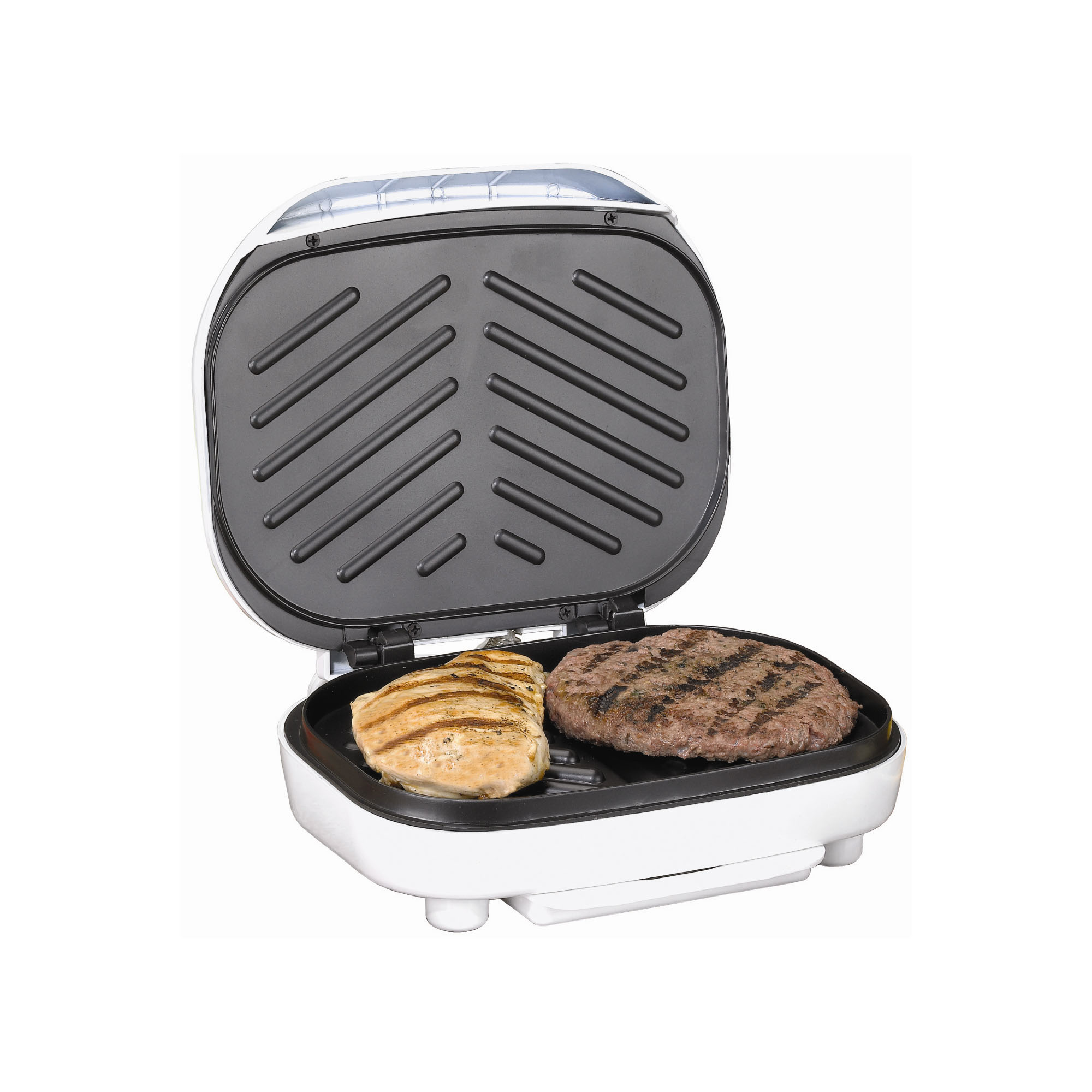 Brentwood TS-605 Electric Contact Grill, 2-Slice Capacity