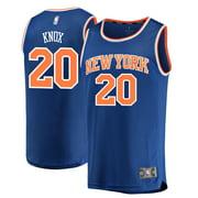 Kevin Knox New York Knicks Fanatics Branded 2018 NBA Draft First Round Pick Fast Break Replica Jersey Blue - Icon