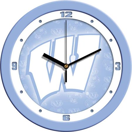 - Wisconsin Baby Blue Wall Clock