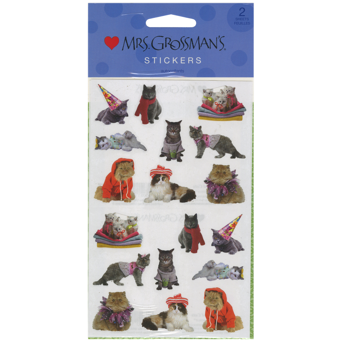 Mrs. Grossman's Stickers-Pampered Cats - image 1 of 1