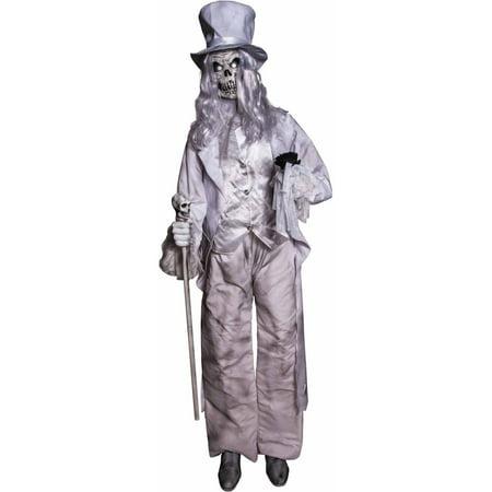 Animated Ghostly Gentleman Halloween Decoration