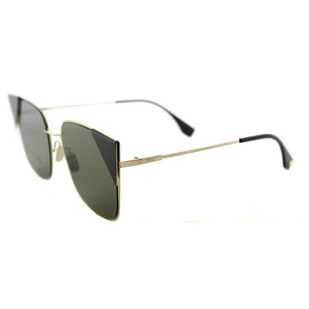 Fendi LEI FF 0191 000 2M Womens  Cat-Eye Sunglasses - Fendi Spy Coffee