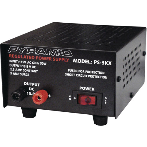 Pyramid PS3 3A/13.8V Power Supply