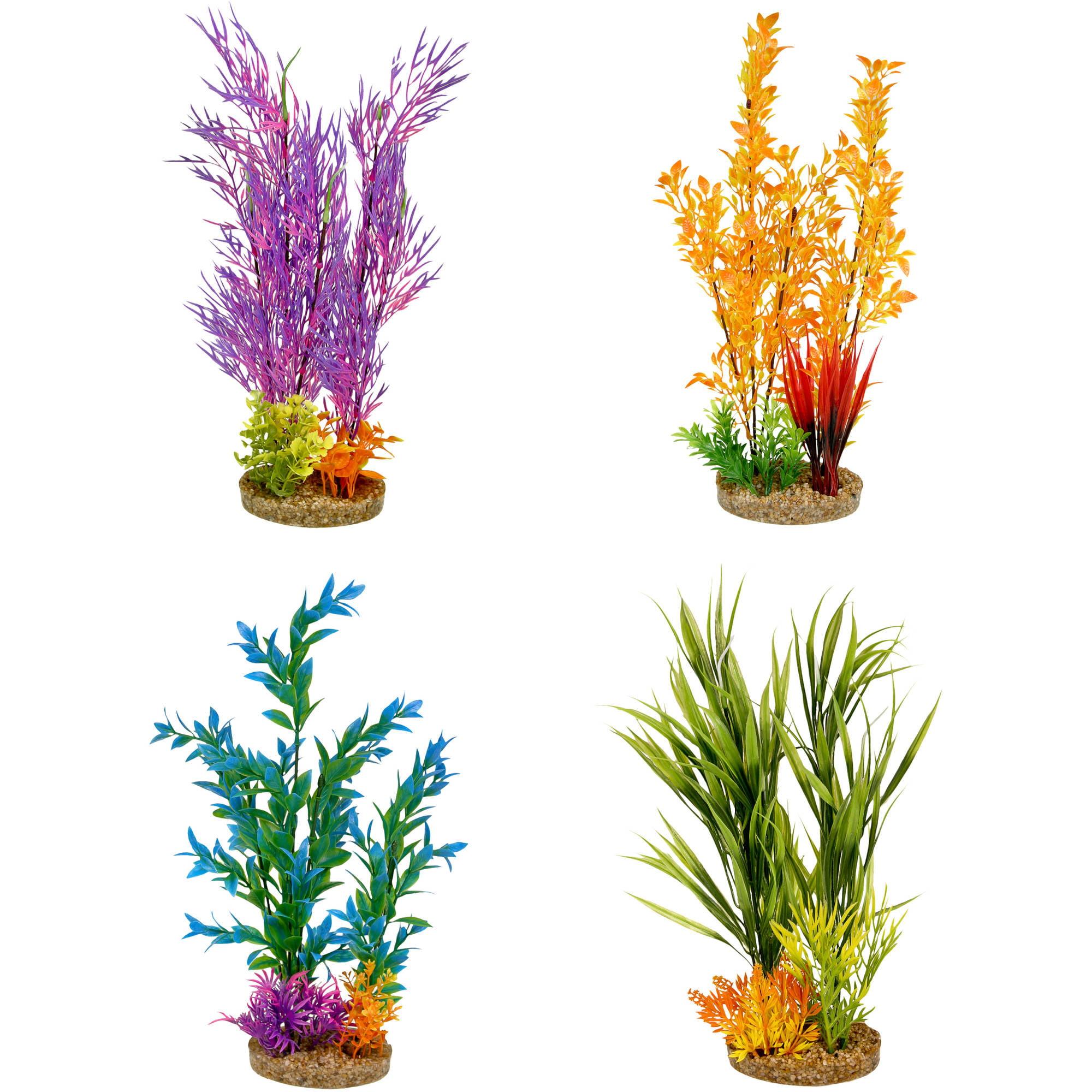 Aqua Culture Extra Large Standing Aquarium Plant by blue ribbon pet products inc