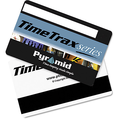 Pyramid Technologies Time Clock Badges for Software Based Time and Attendance Terminal, Numbered 51-100