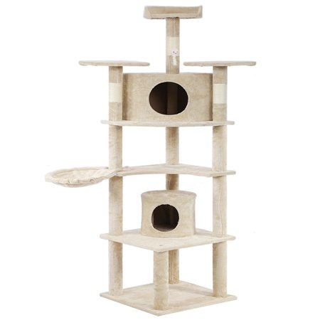 Cat Tree Cat Condo Scratching Post, 80