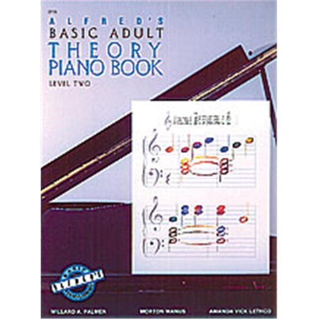 Alfred 00-2118 Basic Adult Piano Course- Theory Book 2 - Music Book