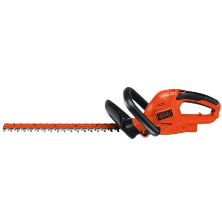 black decker ht22 4 0 amp 22 corded hedge trimmer. Black Bedroom Furniture Sets. Home Design Ideas