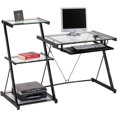 Studio Desk and Bookcase, Black