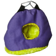 BPV1167 Snuggle Sack Bird Nest with 2-Inch Opening, Small, Snuggle sacks are soft, fuzzy and helps to keep your birds protected from cold drafts By Prevue Pet Products