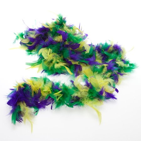Mardi Gras Boa - Mardi Gras Feather Boas