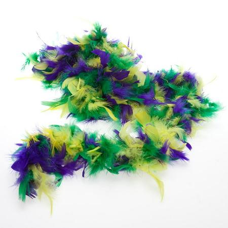 Mardi Gras Boa - Mardi Gras Wreaths