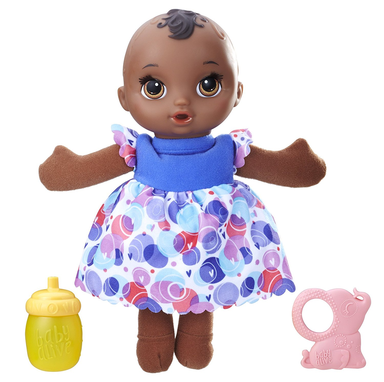 Lil Slumbers African American Eyes Close When Doll Is