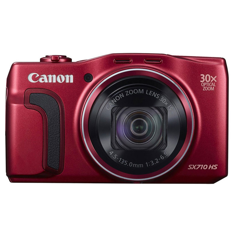 Canon PowerShot SX710 20.3MP 3x Optical Zoom Wifi Enabled Digital Camera Red